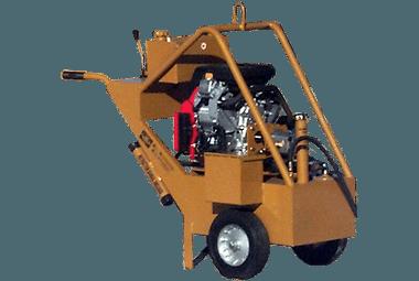 2000 Hydraulic Swing Hoist - Gas