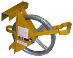Short Ladder Hoisting Wheel