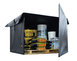 Bulk Material Warmer - Hot Box 4x4x4