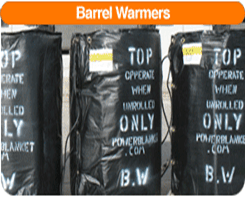 Barrel Warmers-Power Blanket BH55RR