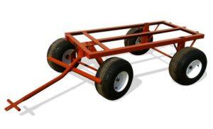 four wheel cart - flat free tires
