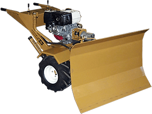 plow attachment for hydraulic tractor