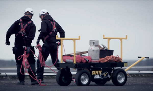 SafetyBull Fall Protection Cart