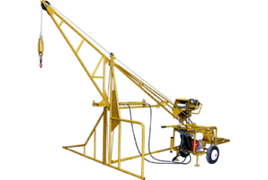 1000 Hydraulic Swing Hoist