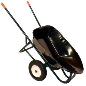 gator dual-wheel wheelbarrow